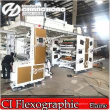 Máquina de impressão de filme de PVC tipo Ci