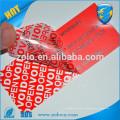 Китайские поставщики липкой красной этикетки