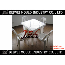 Customize Household or Outdoor Plastic Dinner Table Mould/Mold