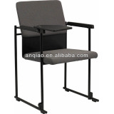 2014 popular Stack Connecting Training Chair with tablet ,Meeting Chair A304-R12