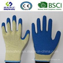10g Kevlar Liner con guantes de trabajo Smart Grip Latex Coating