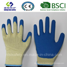 10g Kevlar Liner avec Smart Grip Latex Coating Work Gloves