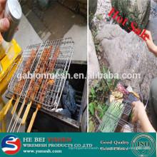 El acoplamiento de alambre caliente de la barbacoa del acero inoxidable de la venta /