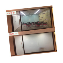 4-6mm white Intelligent glass,electric window tint,PDLC film Tempered glass Building Smart Glass