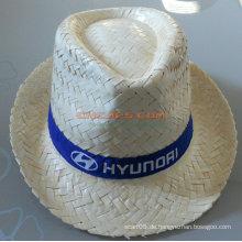 Fördernder Fedora Hut mit kundenspezifischem gedrucktem Firmenzeichen