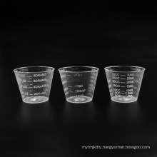 Plastic PS Transparent Measuring Cup