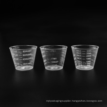 Plastic PS Transparent Measuring Cup