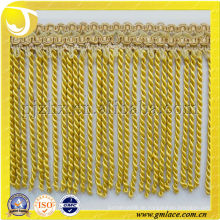 Bullion Curtain Tassel Fringes für Kissen, Polsterung, Tapisserie, Sofa und Zubehör Dekoration verwendet