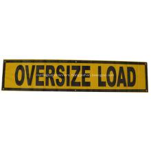 wide load mesh banner