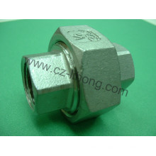 "3/4 ""acero inoxidable 316 DIN2999 Union Flat F / F"