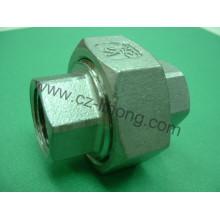 """3/4 """"aço inoxidável 316 DIN2999 Union Flat F / F"""