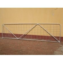 Hot-Dipped Galvanized with N Brace Temporary Farm Gate