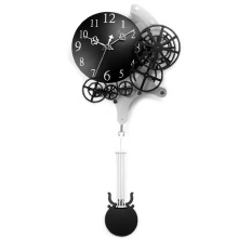 Pendulum Gear Wall Clock for Home Decoration