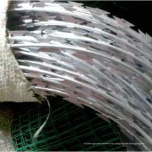 Bobina de alambre galvanizada caliente de la cuchilla de afeitar