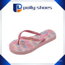 Womens Bermuda Thong Sandals Flip Flop Orange/White Sz 6