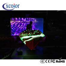 Stage backround P4 DJ booth LED-display