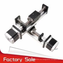 venta directa de fábrica longitudes personalizadas uso de cnc tornillo de bola motorizada lineal xy mesa de escenario