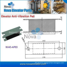 Elevator Anti-vibration Pad for Cabin, Lift Spare Parts