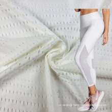 Stock Supply Dry Fit 77 Polyamide 23 Elastane 4 Way Stretch Mesh fabric for Sports Lining