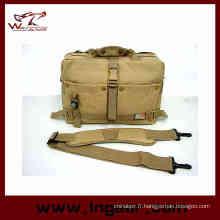 Fashion sac boussole étanche appareil photo sac militaire sac à bandoulière