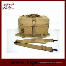 Moda bolsa impermeable brújula cámara bolso bolso de hombro militar