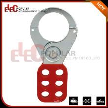 Elecpopular Produtos mais vendidos em Alibaba Red Cor Vinyl Coated Safety Lockout Hasp