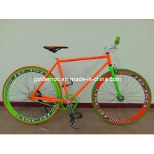 700c Stahlrahmen Fixed Gear Fahrrad 7002