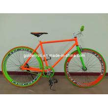 Bicicleta fixa 7002 da engrenagem da armação de aço 700c