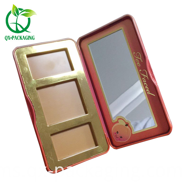 Tin Box for Cosmetic Packaging