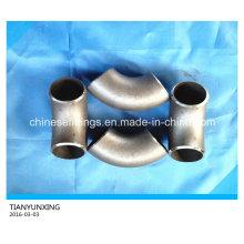 ASTM B16.9 Conexiones de tubería de acero al carbono sin soldadura Codo