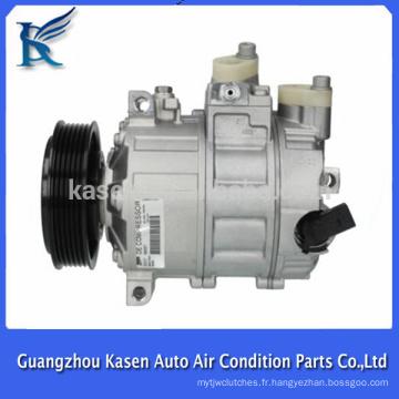 Compresseur AC A / C pour Audi VW Skoda Seat 1K0820803S, 1K0820859M, 1K0820803F, 1K0820803G, 1K0820859E, 1K0820803P, 1K0820803H