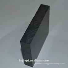 Черный Твердый лист PVC пластмассы / гладильная доска