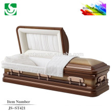 JS-ST421 trade assurance supplier reasonable price gold china church caskets