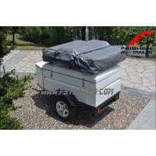 Mini reboque alta qualidade telhado top tenda campista