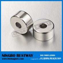 Permanent NdFeB Ringmagnet mit radialer Magnetisierung