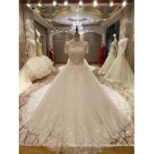 Новое Прибытие 2017 Топ Принцесса Браке С Коротким Рукавом Свадебные Платья