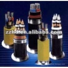 Tipo de preço de fábrica de especificação de cabo elétrico xlpe subterrâneo
