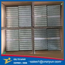 Conector de acero galvanizado de construcción de madera