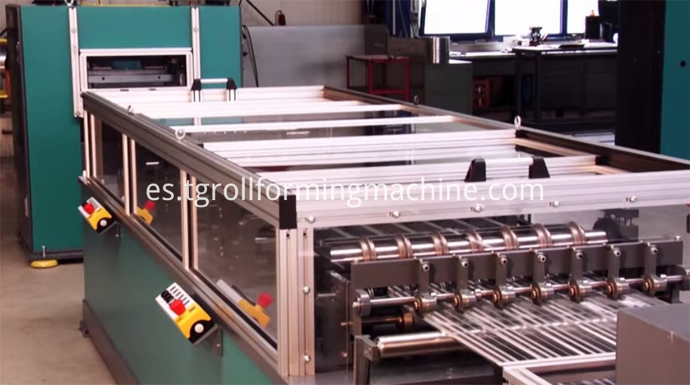 Rib Metal Mesh Formwork Machine