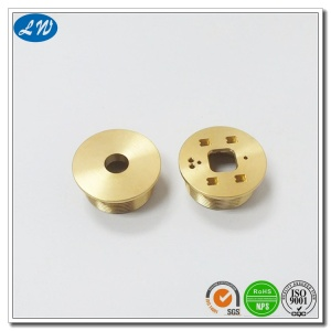 Brass Precision Tinggi Turn Button Dish Deep
