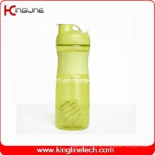 500ml Plastik-Mixer-Shaker mit Edelstahl-Mixer-Mischer-Kugel (KL-7064)