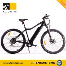 MOTORLIFE / OEM marca 2017 venta caliente nueva 48V 500w ebike, bicicleta de montaña eléctrica