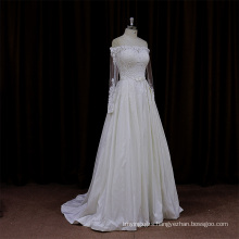 Long Train Wedding Dress Patterns Classic