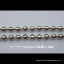 Cadena de la cadena del acero inoxidable de la cadena de la cortina-4.5mm * accesorio de la cadena-cortina de 6m m