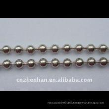 metal curtain chain-stainless steel ball chain-4.5mm*6mm chain-curtain accessory