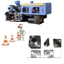 Máquina para fabricar blocos de barreira
