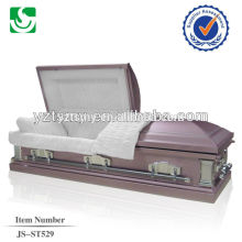 hot sale 18 gauge quick deliver steel caskets