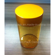 Amber Pet Injection Medicine Flasche für Vitamin Kapseln (PPC-PETM-012)