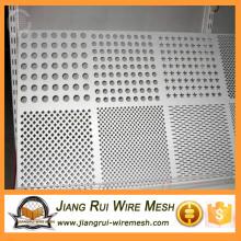 Aço inoxidável 316 malha de metal perfurada