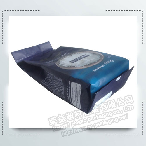 Flat bottom Plastic Packing Bag